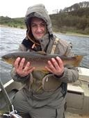 Wild brown trout 8lb