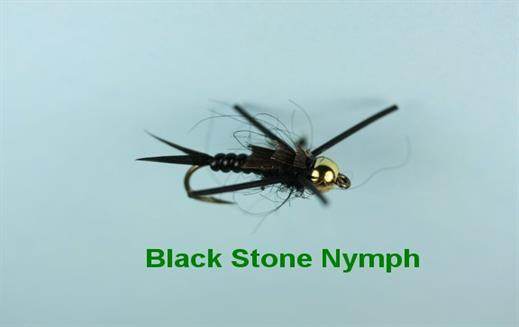 Black Stone Beaded Nymph
