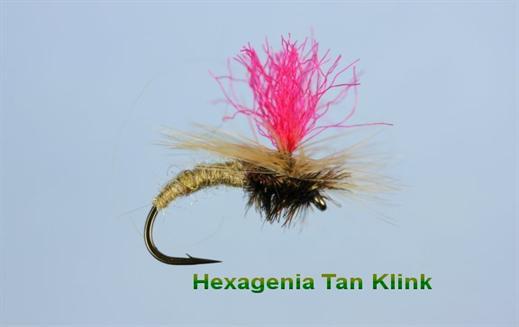 Hexagenia Klinkhammer Tan