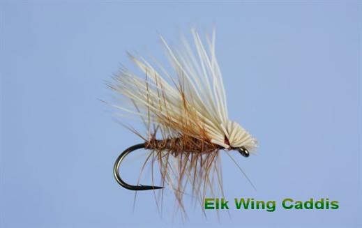 Elk Winged Caddis Tan