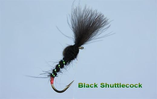 Shuttlecock Black CDC