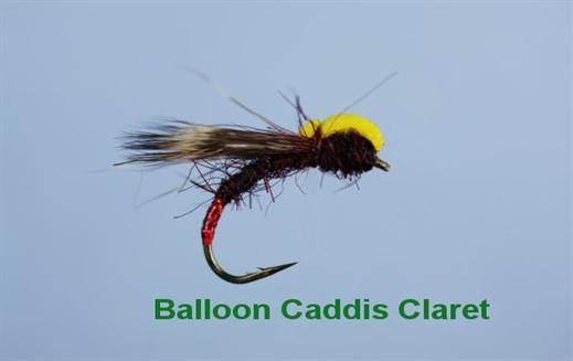 Balloon Caddis Claret