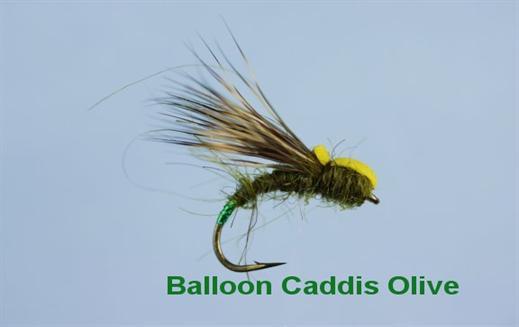 Balloon Caddis Olive