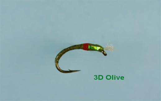 3D Olive Epoxy Buzzer