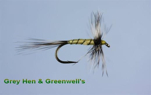 Grey Hen and Greenwells