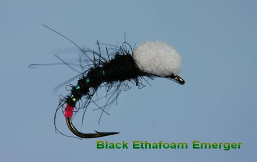 Foam Emerger Black