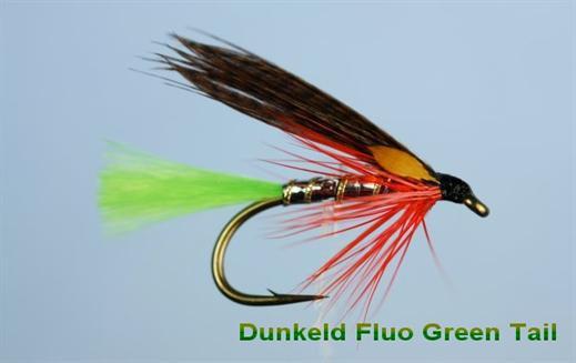 Dunkeld Fluo Green Tail JC