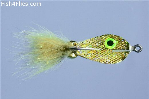 Rainys Spoon Fly Gold