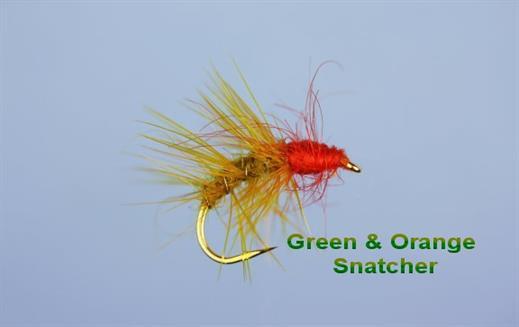 Green and Orange Snatcher