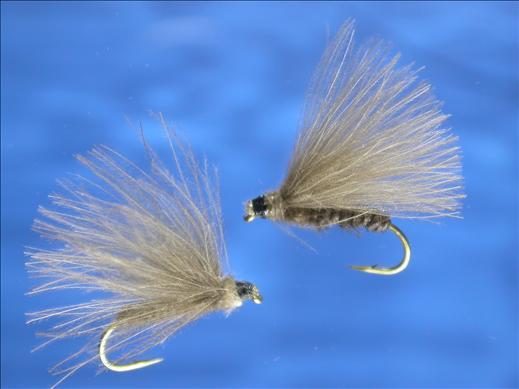 Light Grey CDC Caddis Fly