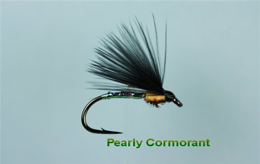 Pearly Cormorant Peacock