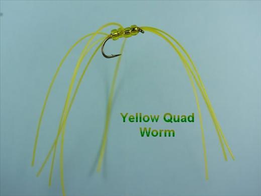 Yellow Quad Bead Worm