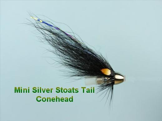 Mini Silver Stoats Tail Dog Conehead