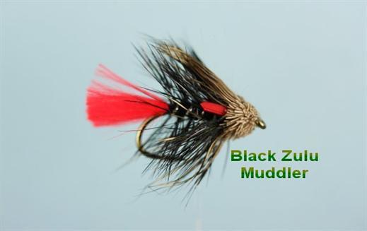 Black Zulu Muddler