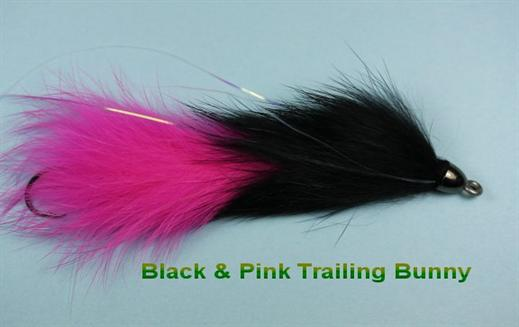 Black n Pink Trailing Bunny
