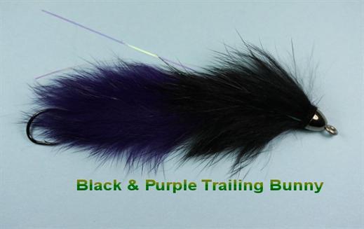Black n Purple Trailing Bunny