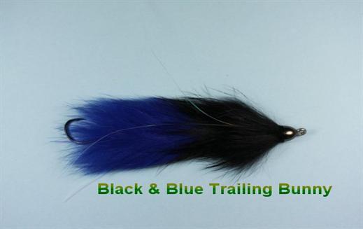Blue n Black Trailing Bunny