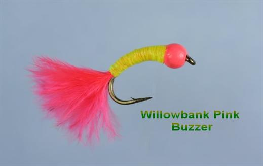 Willow Pink Beaded Nymph