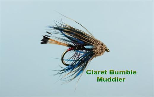 Claret Bumble Muddler