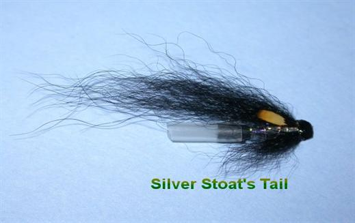 Silver Stoats Tail JC Hitch