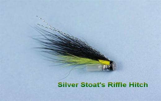Silver Stoats Tail Hitch