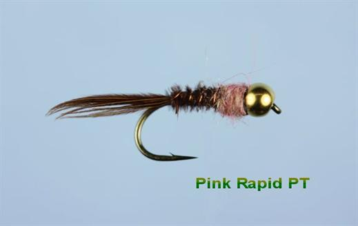 Pink Rapid Pheasant Tail