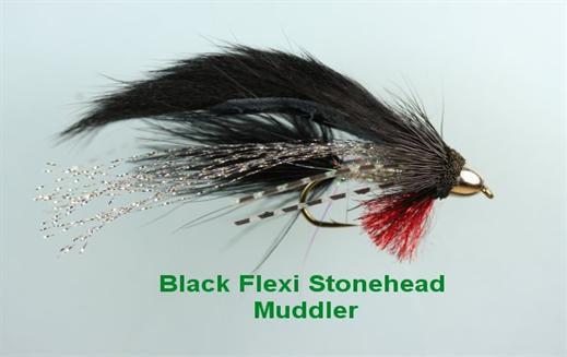 Black Flexi Stonehead Muddler