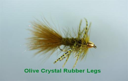 Olive Crystal Bugger