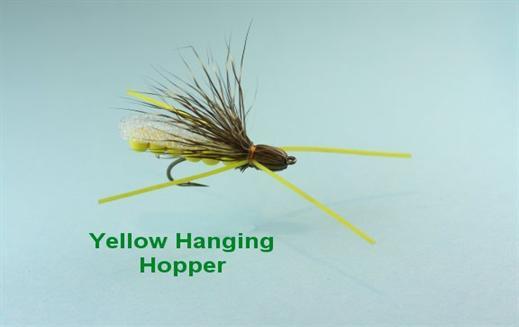 Yellow Hanging Hopper