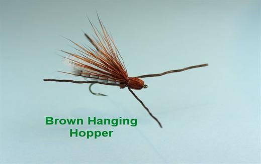 Brown Hanging Hopper