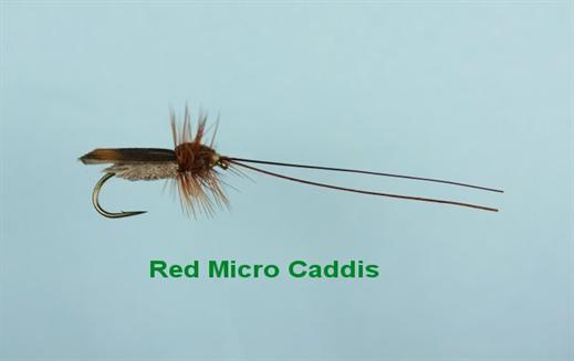 Red Micro Caddis