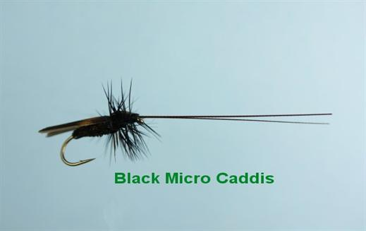 Black Micro Caddis