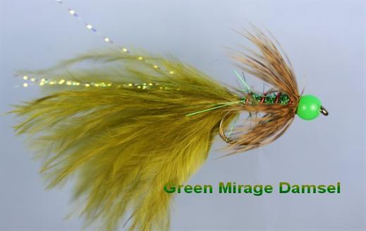 Mirage Green Beaded Damsel
