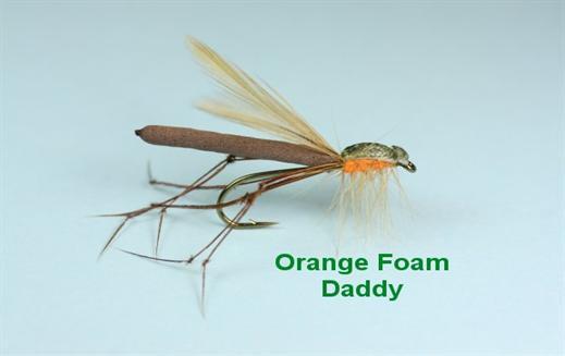 Orange Foam Daddy