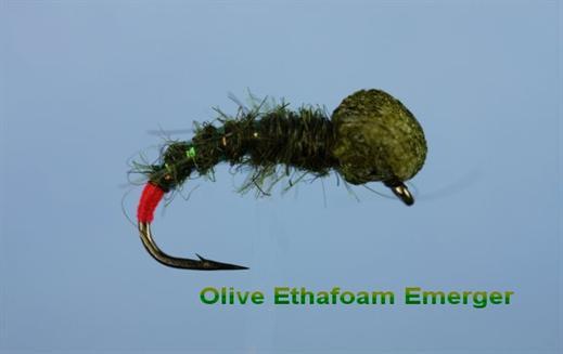 Olive Ethafoam Emerger