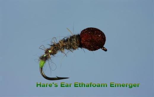 Hares Ear Ethafoam Emerger