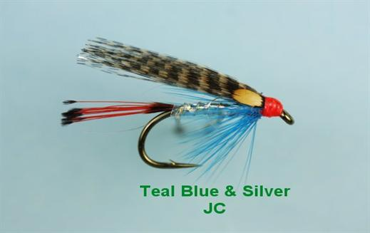 Teal Blue and Silver JC