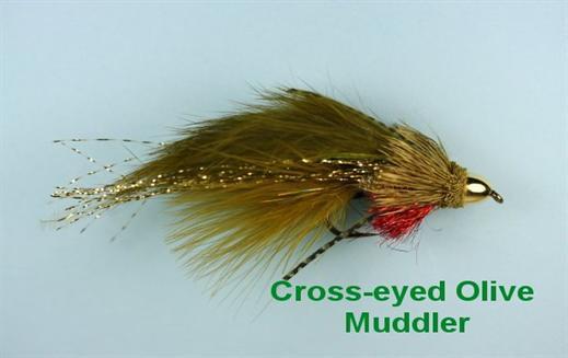 Cross Eyed Olive Muddler