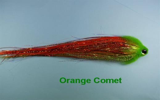 Orange Comet
