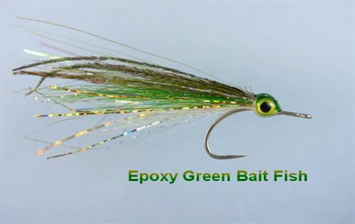 Green Epoxy Bait Fish
