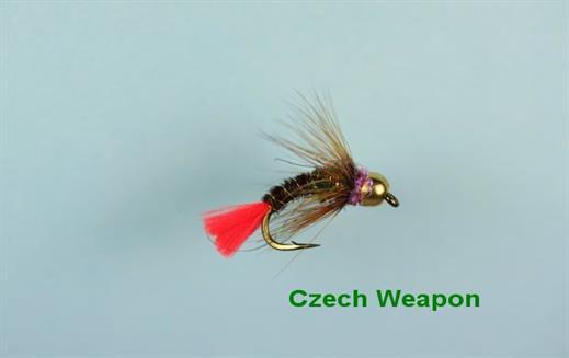 Czech Weapon Tungsten Nymph