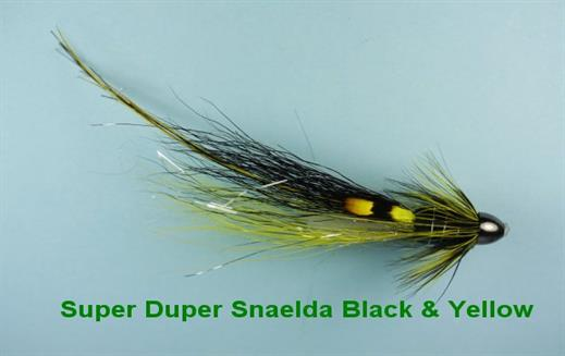 Super Duper Snaelda Black n Yellow