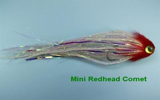 Redhead Mini Comet Tube Fly