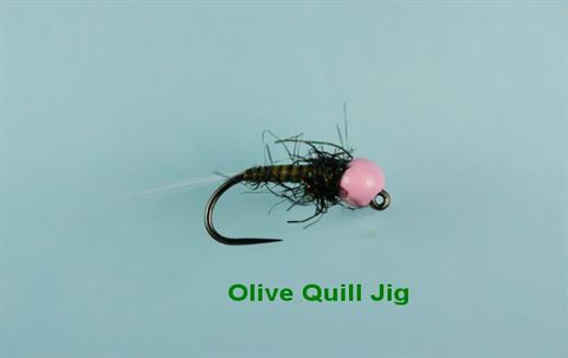 Olive Quill Jig