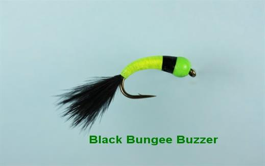 Black Bungee Buzzer