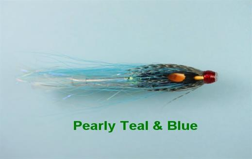 Pearly Teal and Blue