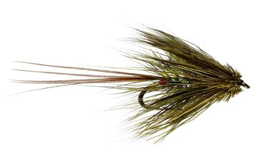 Pearly Muddler Mayfly