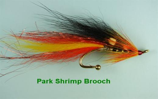Park Shrimp Brooch Pin
