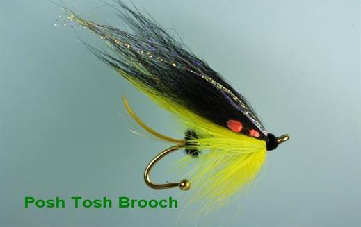 Posh Tosh Brooch Pin
