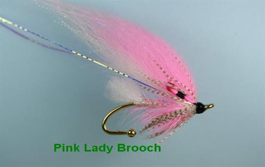 Pink Lady Brooch Pin